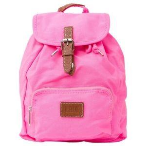 Pink Victoria's Secret Neon Hot Cotton Backpack